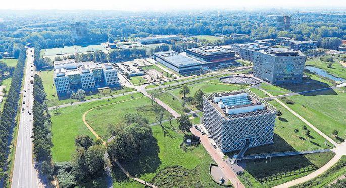 """Am Campus der """"Wageningen University & Research"""" wird an vielen Fragen der Lebenswissenschaften geforscht."""