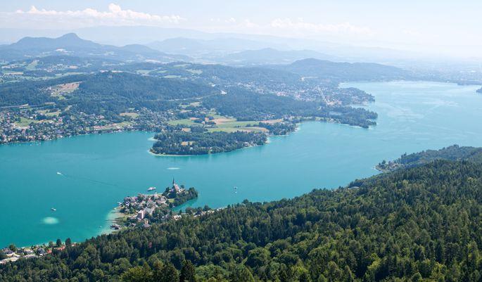 Als Spitzenreiter geht der Wörthersee in Kärnten hervor.