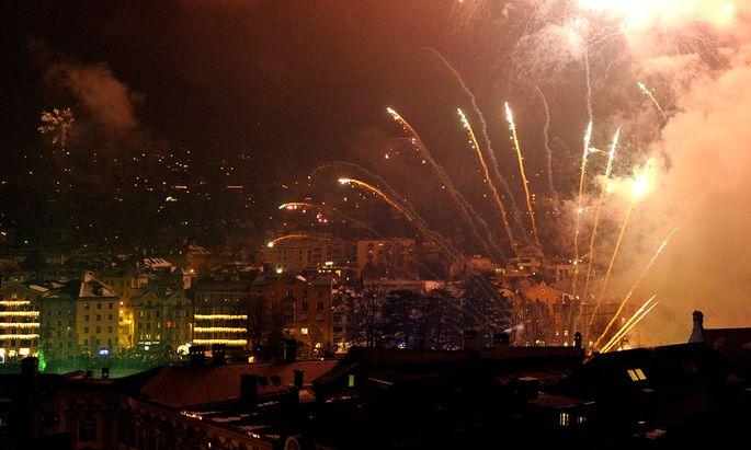 Archivbild: Silvesterfeiern in Innsbruck