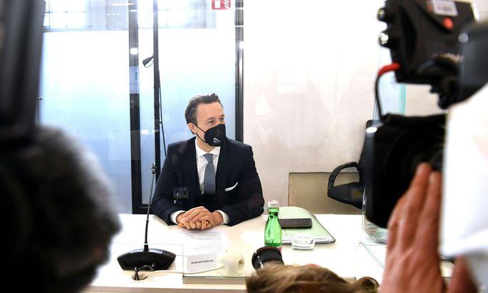 Machte im U-Ausschuss von seinem Entschlagungsrecht Gebrauch: Finanzminister Gernot Blümel.