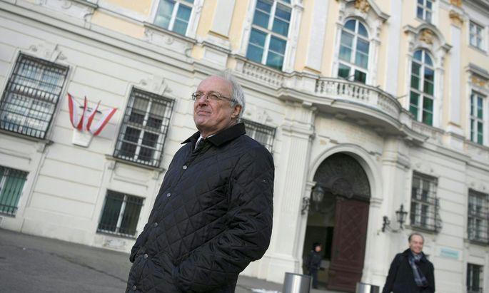 Der evangelisch-lutherische Bischof Michael Bünker