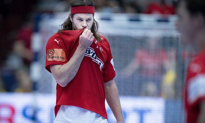 """""""Wir haben nicht das Niveau erreicht, das wir erreichen wollten"""": Ratlosigkeit beim dänischen Superstar Mikkel Hansen."""