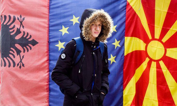 EU will Beitrittsgespräche mit Nordmazedonien und Albanien