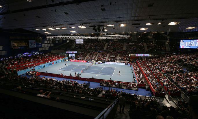 Das Tennisturnier in der Wiener Stadthalle lockt stets Massen an.