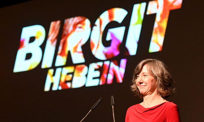 Die Wiener Grünen wählten am Samstag ihre Liste für die Wahl im Herbst, die Birgit Hebein als Spitzenkandidatin anführen wird.