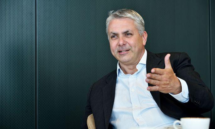 Peter Bosek, Chef der Erste Bank Österreich.