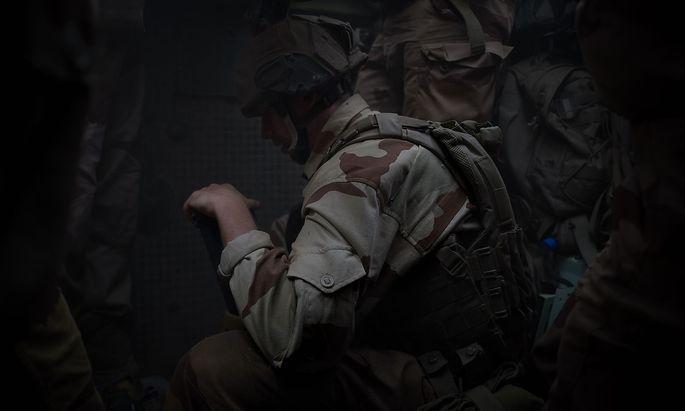 Archivbild eines französischen Soldaten beim Einsatz in Mali.