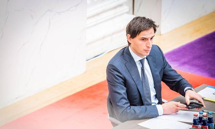 Der niederländische Finanzminister, Wopke Hoekstra, wurde für seine unnachgiebige Haltung gegenüber Südeuropa kritisiert.