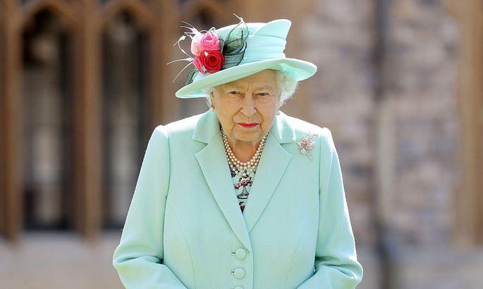 Queen Elizabeth II. auf einem Archivbild