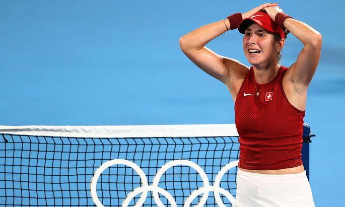 Tennis - Women's Singles - Gold medal match