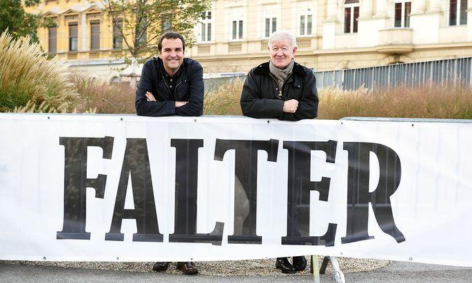 Florian Klenk, Armin Thurnher