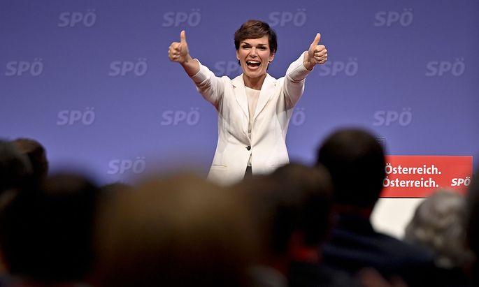 SP-Partei-Chefin Pamela Rendi-Wagner