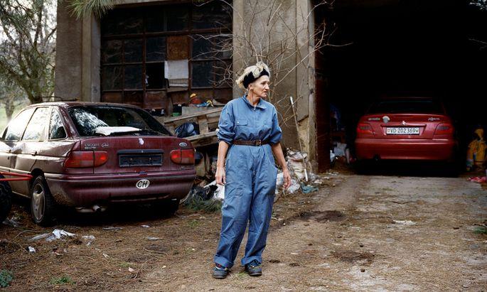 "Anne Golaz, ""Mooty"".  Aus der Serie ""Corbeau"" (photography, video, texts), 2004–2017."