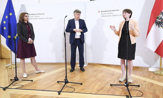 PK VOR ARBEITSGESPRAeCH 'AUSTAUSCH UeBER SAUBERE POLITIK': KOGLER/ZADIC/MAURER