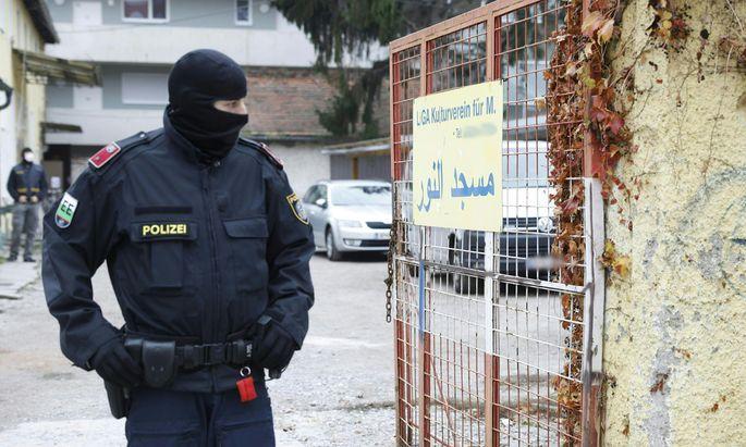 Razzia gegen Muslimbruderschaft und Hamas am Montag, 09. November 2020, u.a. in Graz.