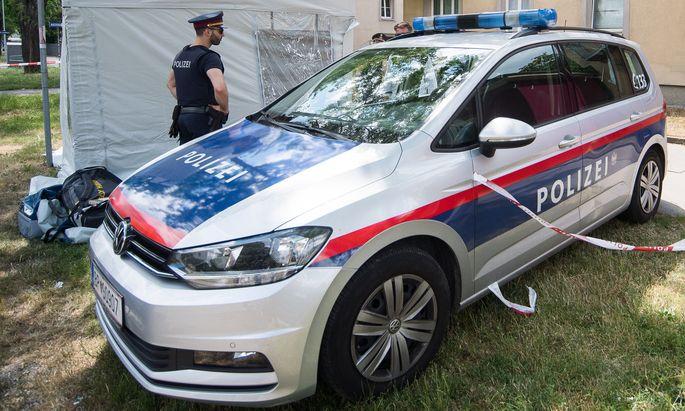 Fundort der getöteten 13-Jährigen in Wien-Donaustadt