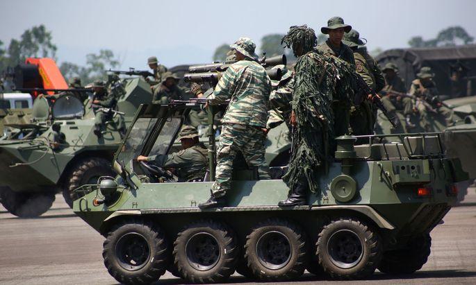 Militärmanöver in Venzuela