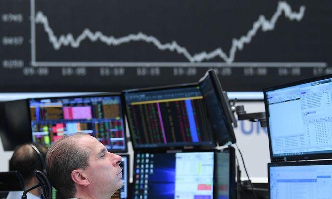 An der Börse Frankfurt ging es wieder aufwärts.