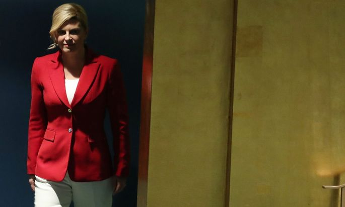 Kroatiens Präsidentin Kolinda Grabar-Kitarovic