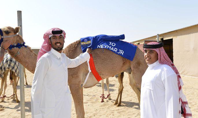 In Katar ist man auch fern der Stadien stolz auf das Investment in Paris.