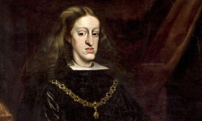 Karl II. von Spanien (1661–1700).