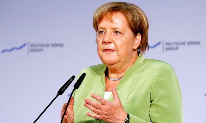 """Angela Merkel: Die Frage, woher die benötigten Fachkräfte kommen, sei """"sehr, sehr dominierend"""""""
