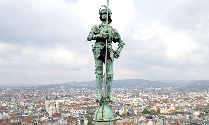 Das Wiener Rathaus wird am Donnerstag zur Wahlkampfbühne mit wechselnden Darstellern.
