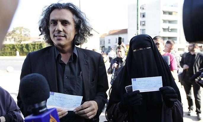 Rachid Nekkaz übernahm bisher 245.000 Euro Strafen.