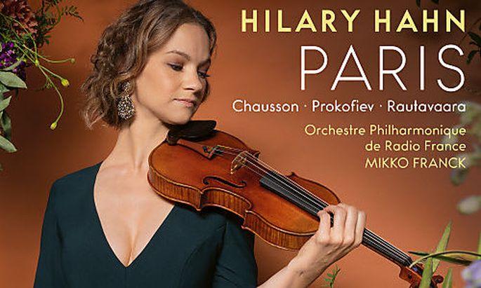 """Hilary Hahn und Mikko Franck """"Paris"""""""