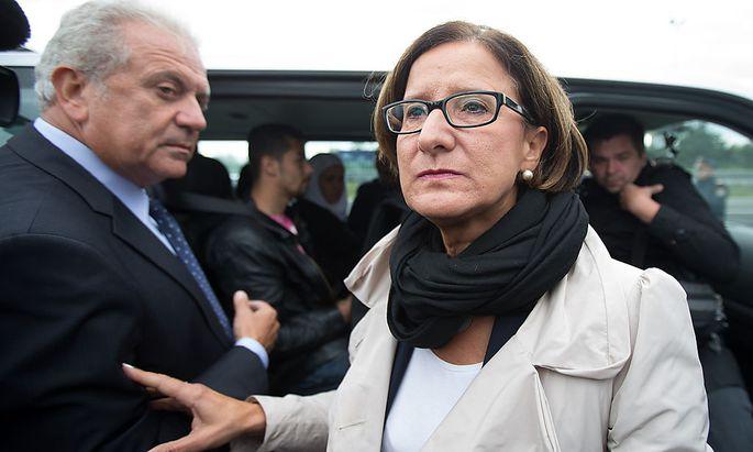 Kommissar Avramopoulos und Innenministerin Mikl-Leitner