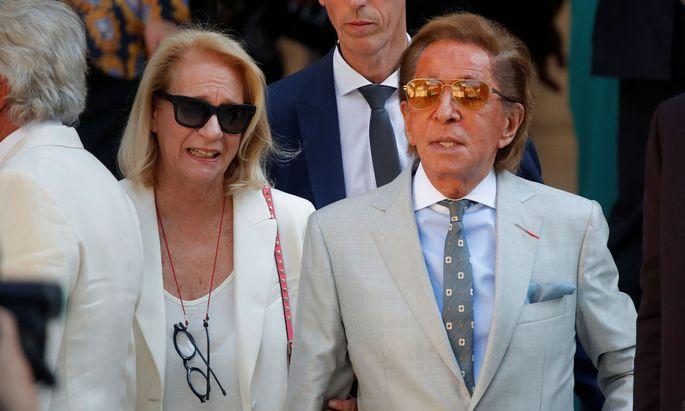Designer Valentino Garavani verkauft seine Villa in der Toskana.