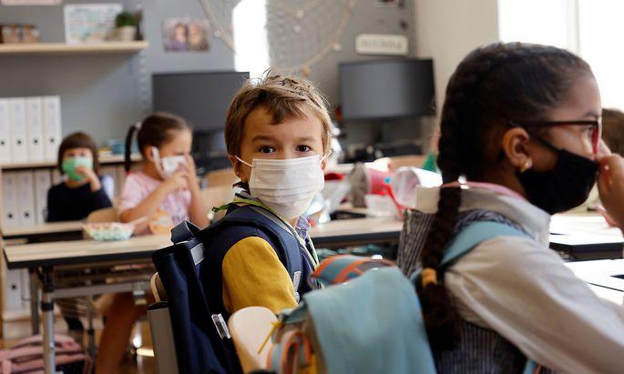 Austrian schools open for pupils after summer holidays in Vienna
