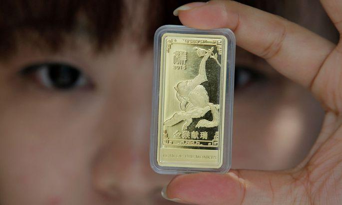 Auch in China steigt der Hunger nach Gold