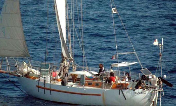 Gekaperte Yacht