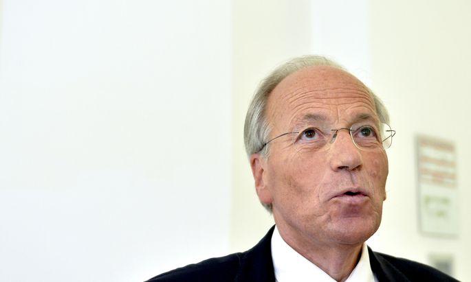 """Rudolf Taschner will ins Parlament. """"Ich hätte mich geärgert, wenn ich nicht Ja gesagt hätte."""""""