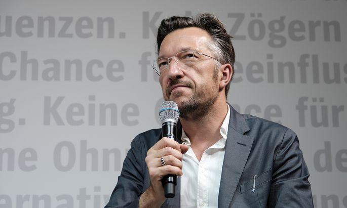 Lukas Bärfuss, Schweizer Schriftsteller und Dramaturg.