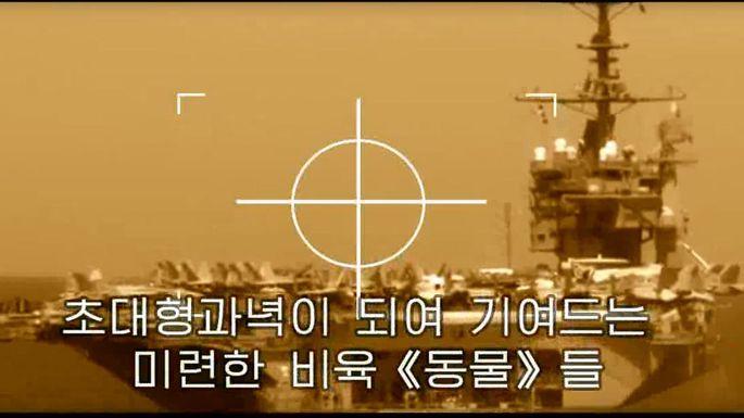 "Der US-Flugzeugträger ""USS Carl Vinson"" im Visier der Nordkoreaner."