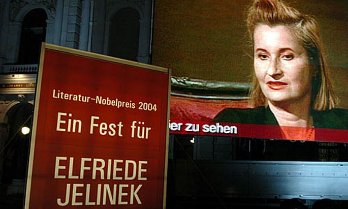 Nobelpreis für Elfriede Jelinek