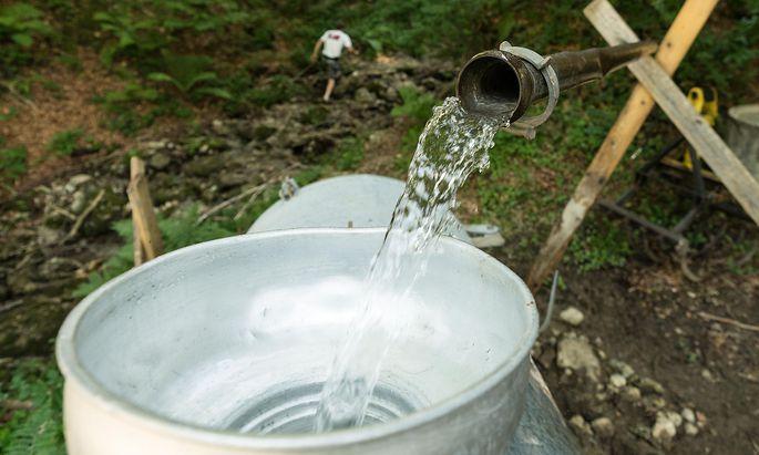 Nicht nur die Almen in Vorarlberg müssen mit Trinkwasser beliefert werden