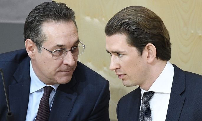 NATIONALRAT: KURZ/STRACHE