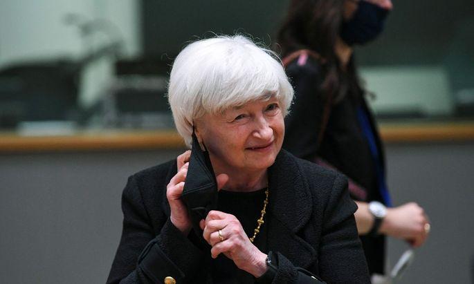 US-Finanzministerin Janet Yellen betonte am Sonntag, eine solche Steuer würde US-Unternehmen diskriminieren und sei nach der Einigung auf die globale Mindeststeuer auch nicht mehr notwendig.