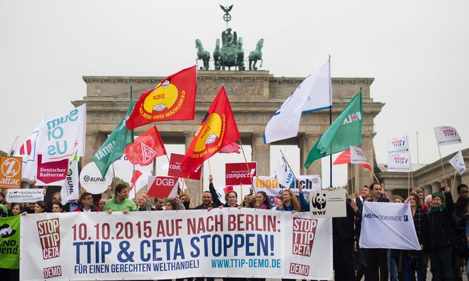 GERMANT PROTEST