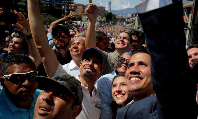 """Oppositionschef Juan Guaidó will einen """"Pakt der Einheit"""""""