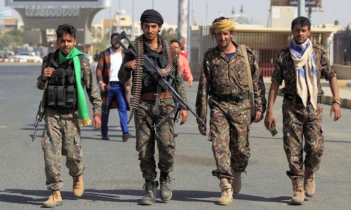 Houthi-Rebellne in Jemen