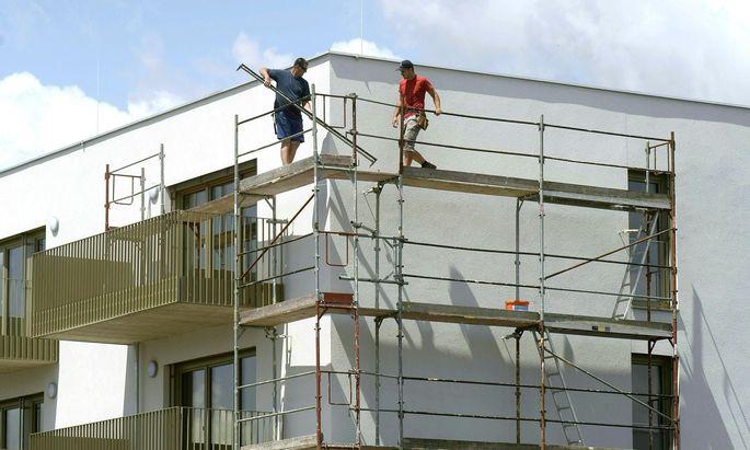 Die Bauwirtschaft verliert laut Studie an Produktivität