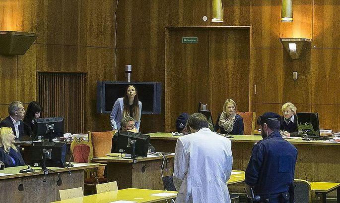 Der Gerichtssaal am Donnerstag vor Start der Verhandlung