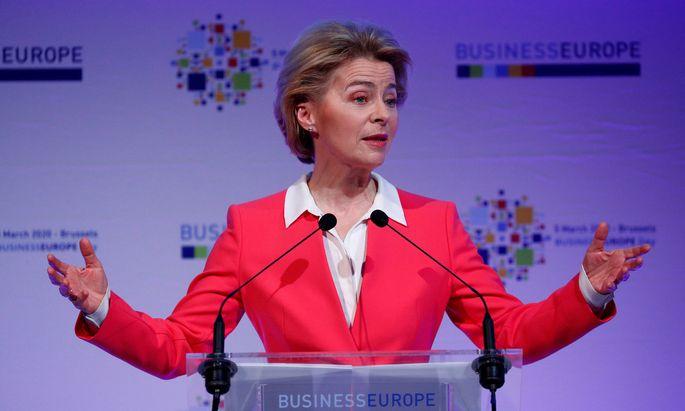 Kommissionspräsident Ursula von der Leyen
