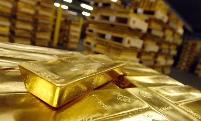 Goldbarren sind stark nachgefragt und daher Mangelware.