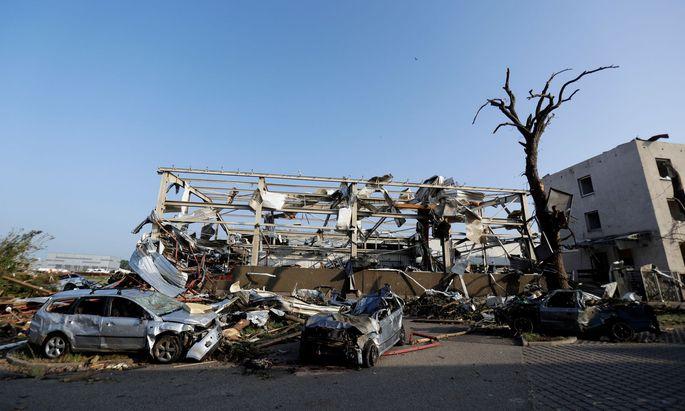 Auch in Europa nehmen die Schäden durch Unwetter zu.