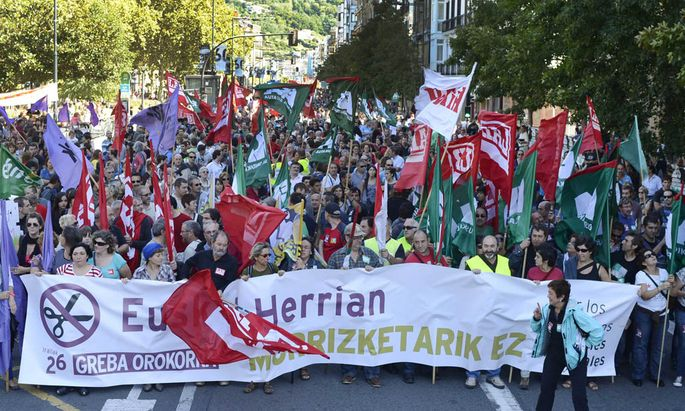 Spanische Gewerkschaften